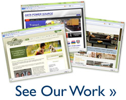 See our web design portfolio